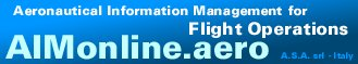 AIMOnline Services - Aeronautical Information Management - Flight Planning System Service Site